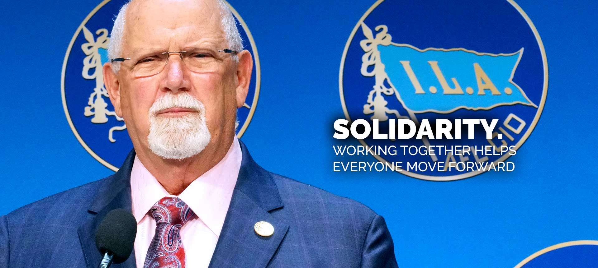 ILA Union: Solidarity with Harold Daggett